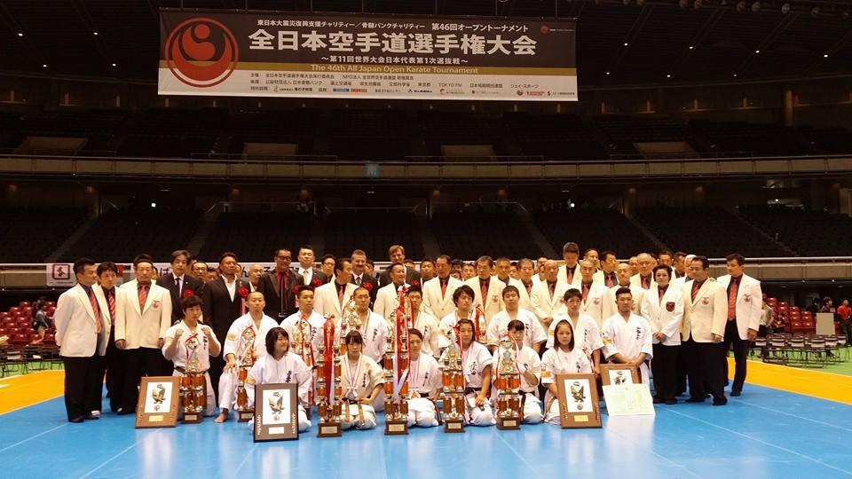 全日本空手道選手権大会、2日目!_c0186691_9541943.jpg