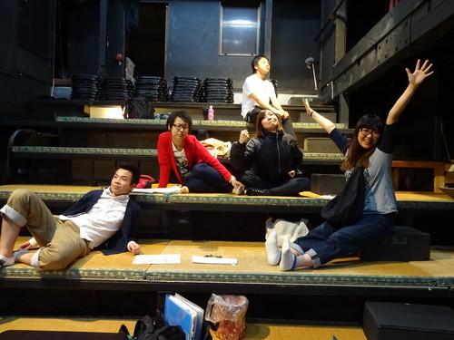◆劇団MFT No.8  修正台本2回目稽古  by 鉄びん_a0137796_15243583.jpg