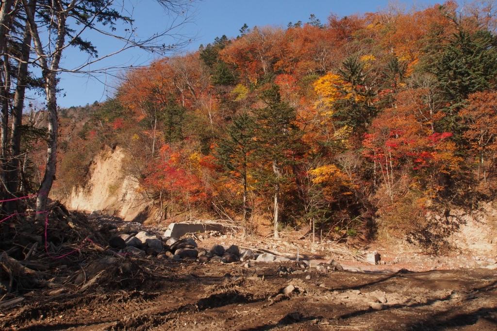 恵庭岳登山口の立入禁止看板_f0138096_22412495.jpg