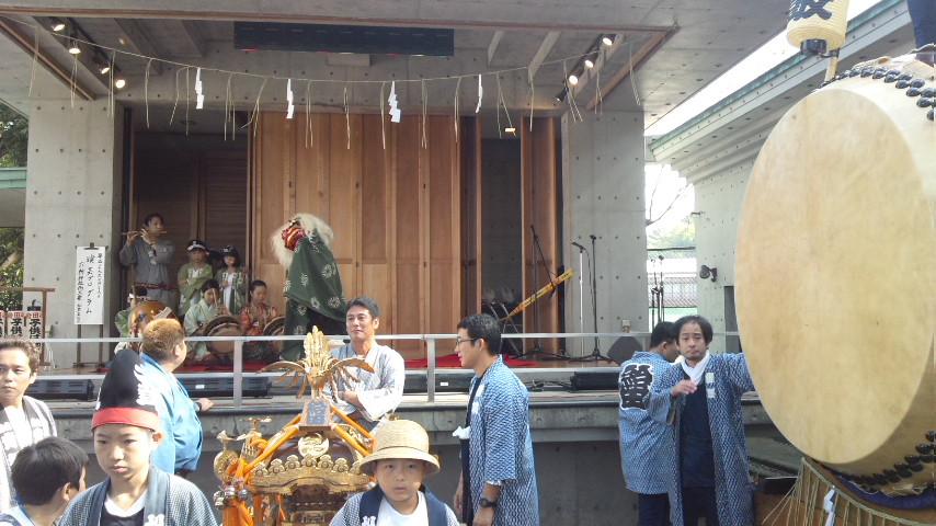 平成26年度給田六所神社例大祭 蘆花まつり_c0092197_2424856.jpg