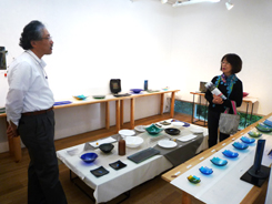 10.28 『上村隆志ガラス展』スタートしました!_e0189606_1852086.jpg