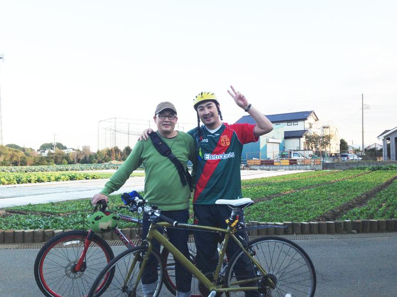ブログ10周年☆サイクリング28kmで疲れた!「島まで10マイル」HOLD UP/THE SHOPのマスターと ♬ _b0032617_2205652.jpg
