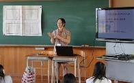 中越高等学校において2つのワークショップを行いました。_c0167632_18104036.jpg