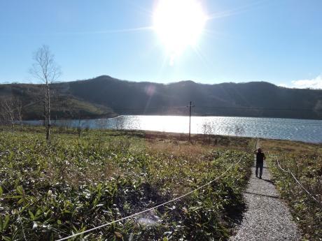六合村からネッシーがいそうな野反湖へ_c0341450_1815740.jpg