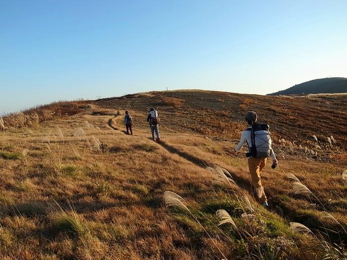 2014.10.25-26 秋の佐渡島ハイク day1_b0219778_23244398.jpg