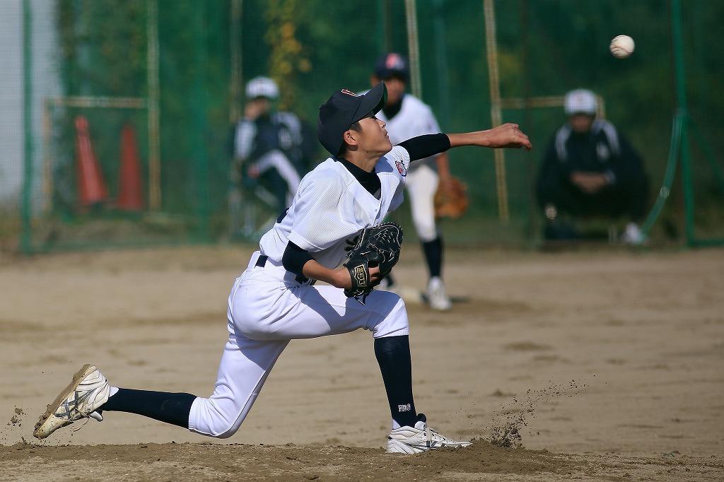 平成26年10月26日練習試合 vs京都二条ボーイズ2_a0170082_20394328.jpg