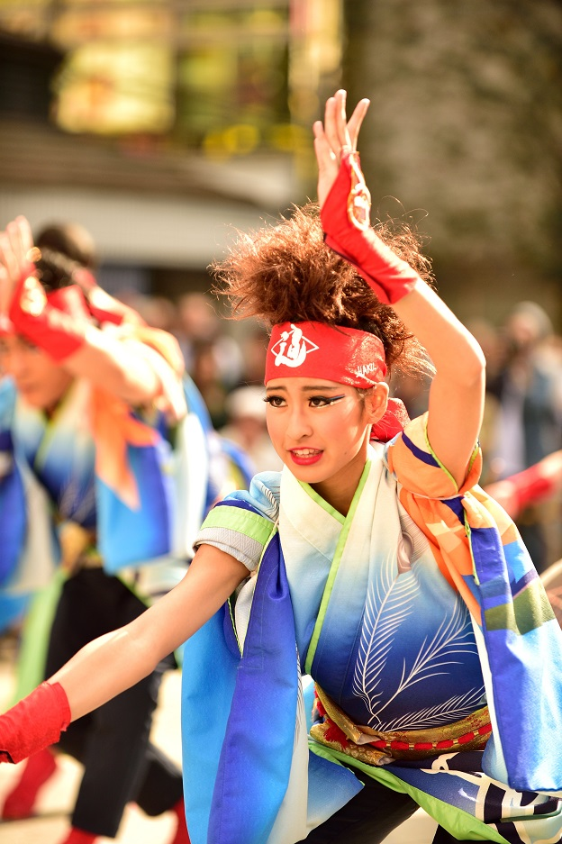 東京よさこい「ダンスパフォーマンス集団 迫」_f0184198_0532090.jpg
