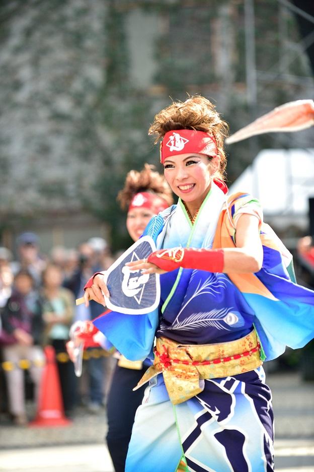 東京よさこい「ダンスパフォーマンス集団 迫」_f0184198_0533397.jpg