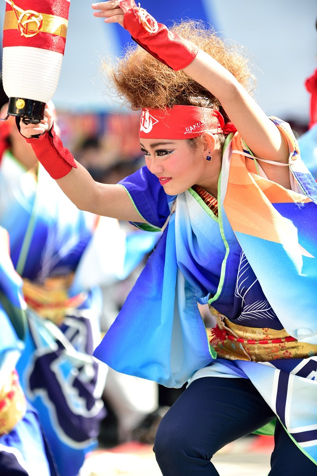 東京よさこい「ダンスパフォーマンス集団 迫」_f0184198_0534531.jpg