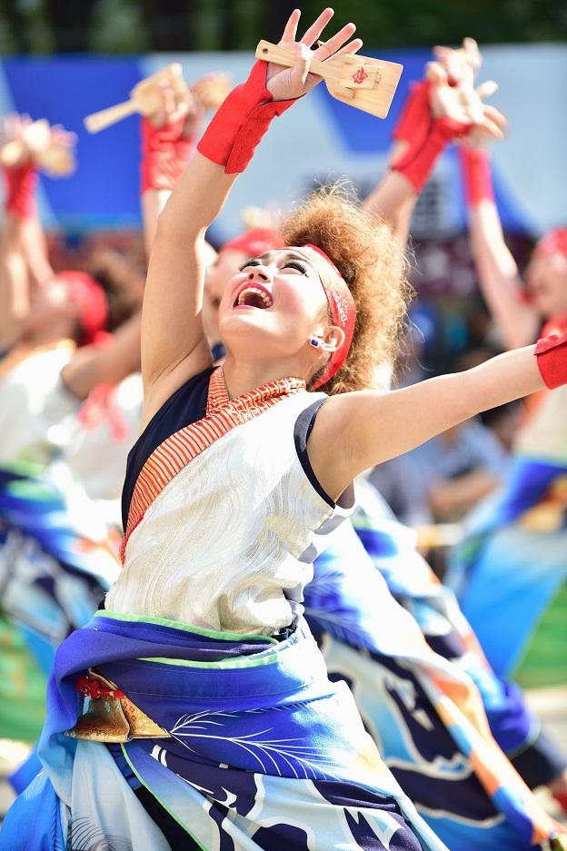 東京よさこい「ダンスパフォーマンス集団 迫」_f0184198_0541043.jpg
