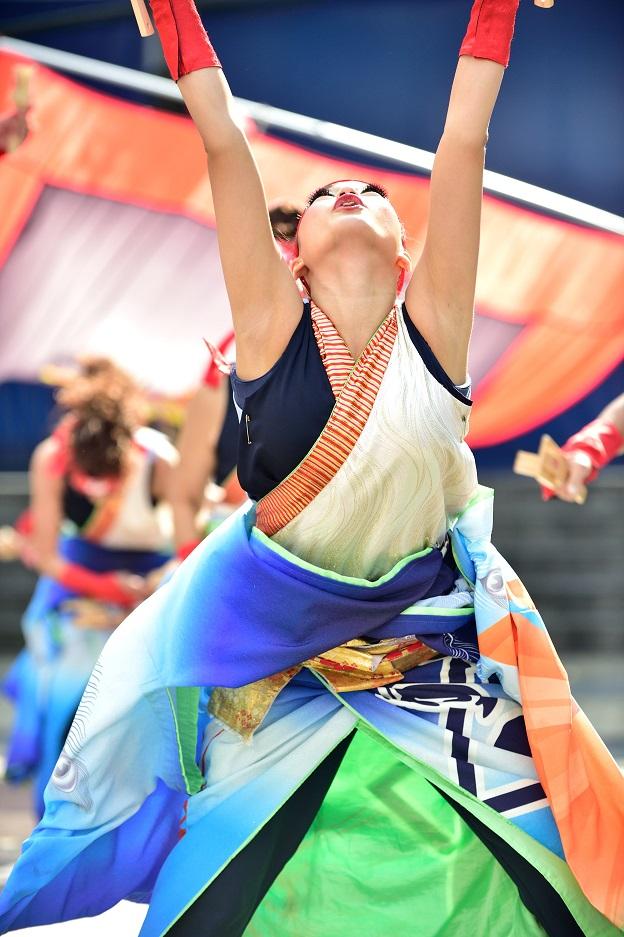 東京よさこい「ダンスパフォーマンス集団 迫」_f0184198_0542730.jpg