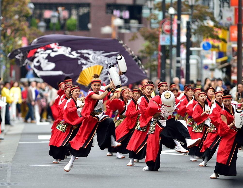 東京よさこい「ダンスカンパニー躍動」_f0184198_1738185.jpg
