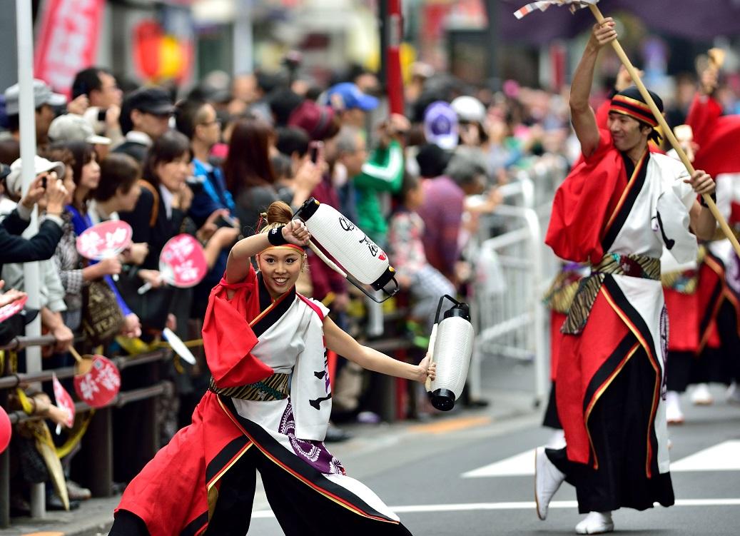 東京よさこい「ダンスカンパニー躍動」_f0184198_17381980.jpg