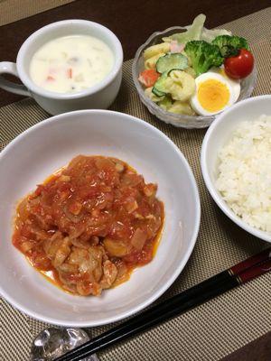 チキンのトマト煮込み_d0235108_2114996.jpg