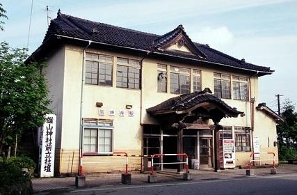 富山地方鉄道 岩峅寺駅_e0030537_031713.jpg