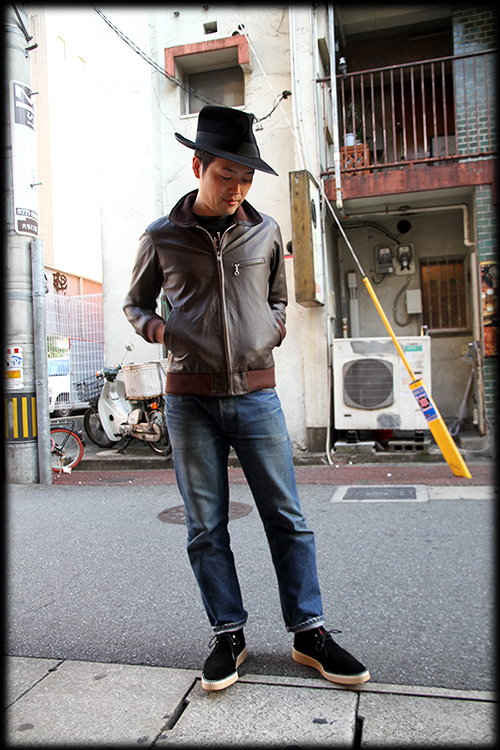 """RALEIGH Design x THE MACKSHOW"" LEATHER JACKET「The CAVERN」_e0325662_14570326.jpg"