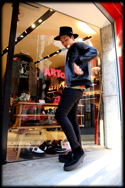 """RALEIGH Design x THE MACKSHOW"" LEATHER JACKET「The CAVERN」_e0325662_14573302.jpg"