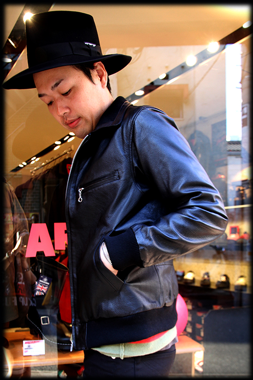 """RALEIGH Design x THE MACKSHOW"" LEATHER JACKET「The CAVERN」_e0325662_14575077.jpg"
