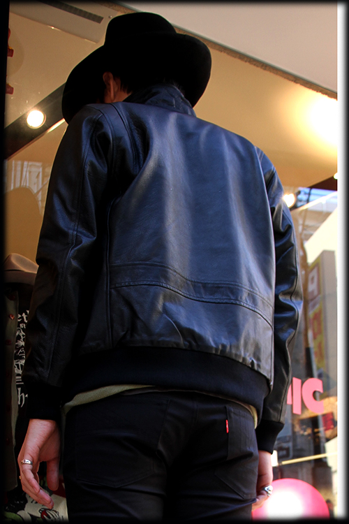 """RALEIGH Design x THE MACKSHOW"" LEATHER JACKET「The CAVERN」_e0325662_14580036.jpg"