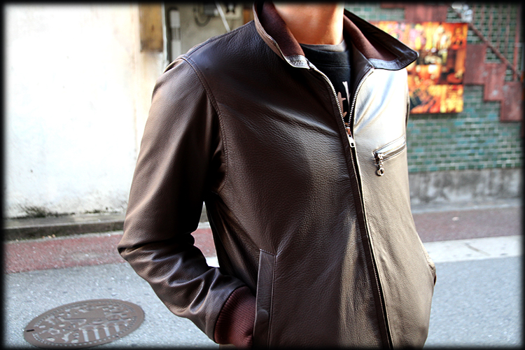 """RALEIGH Design x THE MACKSHOW"" LEATHER JACKET「The CAVERN」_e0325662_14582613.jpg"