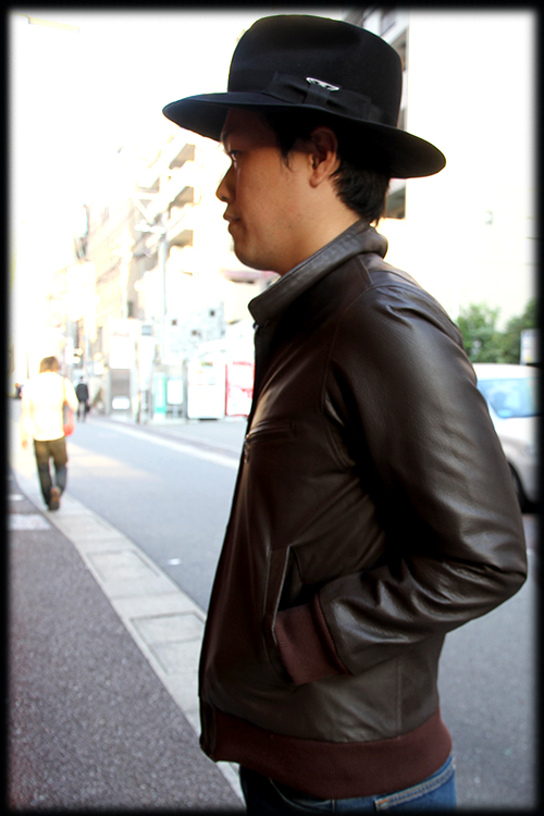 """RALEIGH Design x THE MACKSHOW"" LEATHER JACKET「The CAVERN」_e0325662_14583015.jpg"