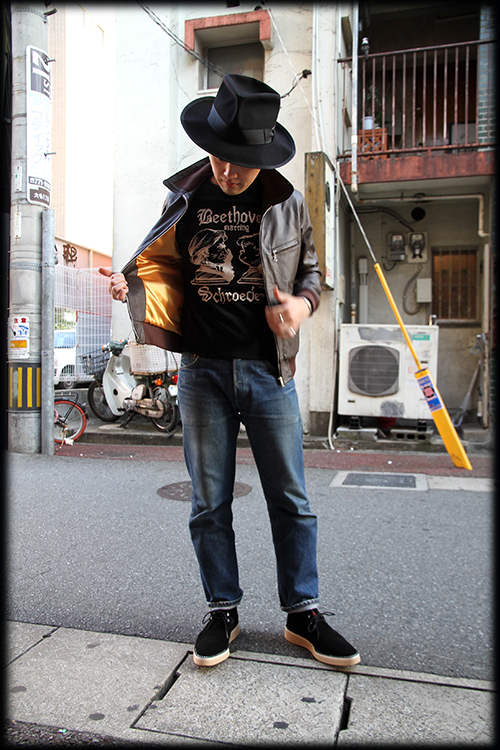 """RALEIGH Design x THE MACKSHOW"" LEATHER JACKET「The CAVERN」_e0325662_14583417.jpg"