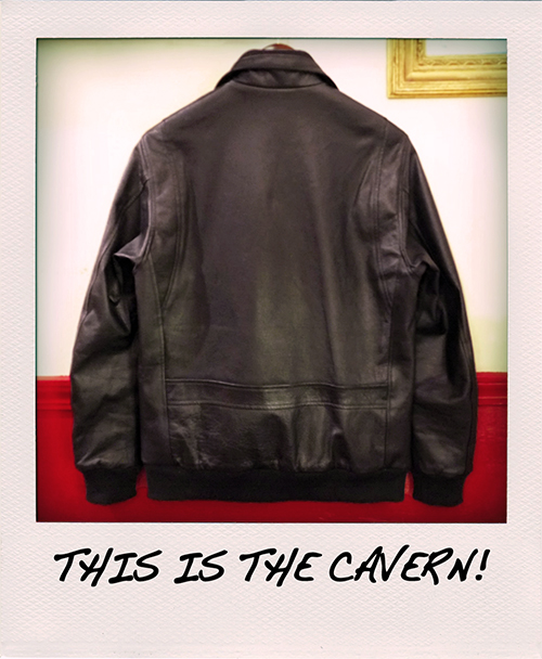 """RALEIGH Design x THE MACKSHOW"" LEATHER JACKET「The CAVERN」_e0325662_15044072.jpg"