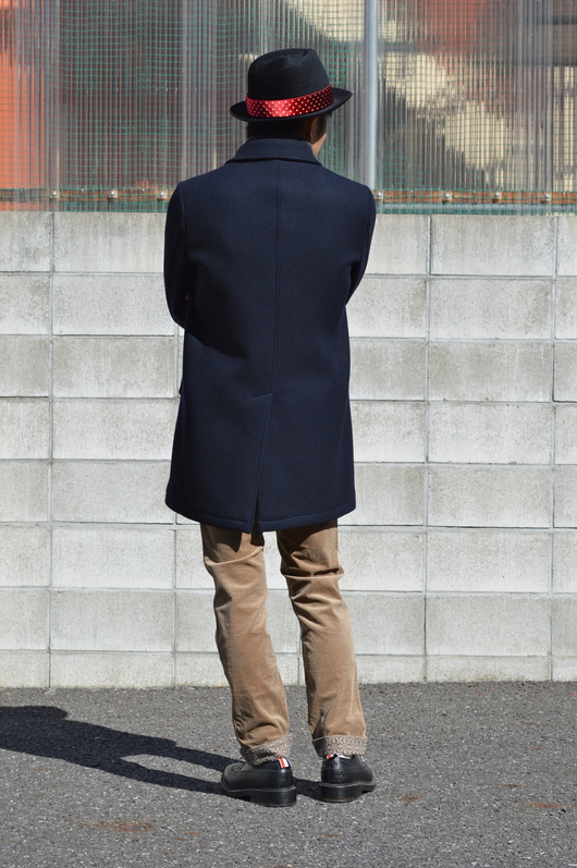 WACKO MARIA - Adult Coat & Turtle Neck Sweater Look!!_f0020773_1965283.jpg