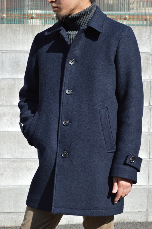 WACKO MARIA - Adult Coat & Turtle Neck Sweater Look!!_f0020773_1972394.jpg