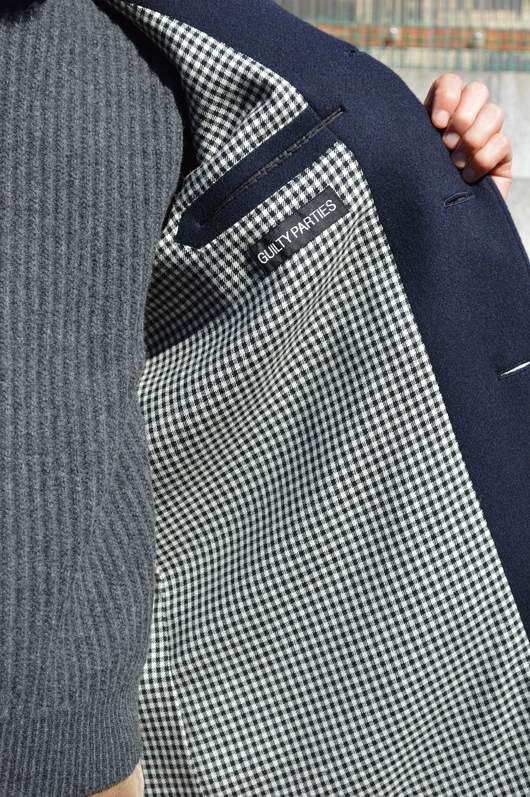 WACKO MARIA - Adult Coat & Turtle Neck Sweater Look!!_f0020773_1974657.jpg