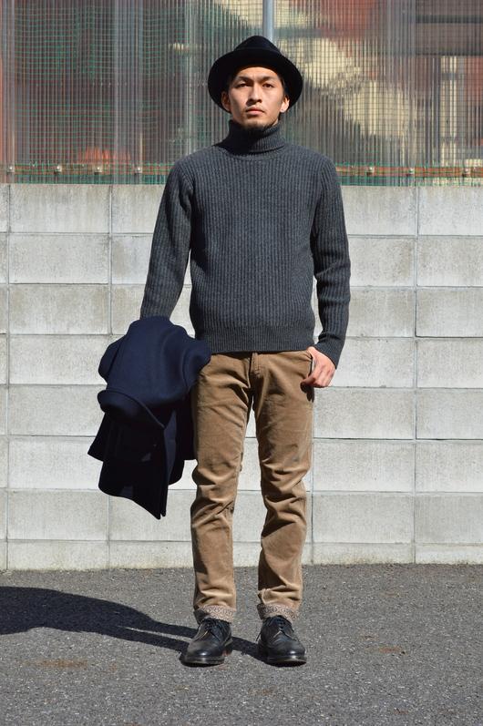 WACKO MARIA - Adult Coat & Turtle Neck Sweater Look!!_f0020773_1982072.jpg
