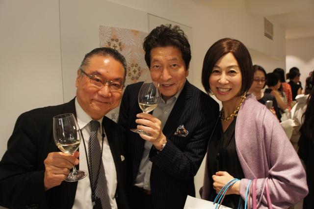 裏地桂子さん『ほめられきもの宣言』出版記念パーティーへ_a0138976_19452363.jpg