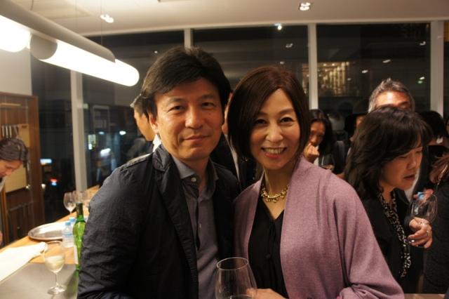 裏地桂子さん『ほめられきもの宣言』出版記念パーティーへ_a0138976_19453610.jpg