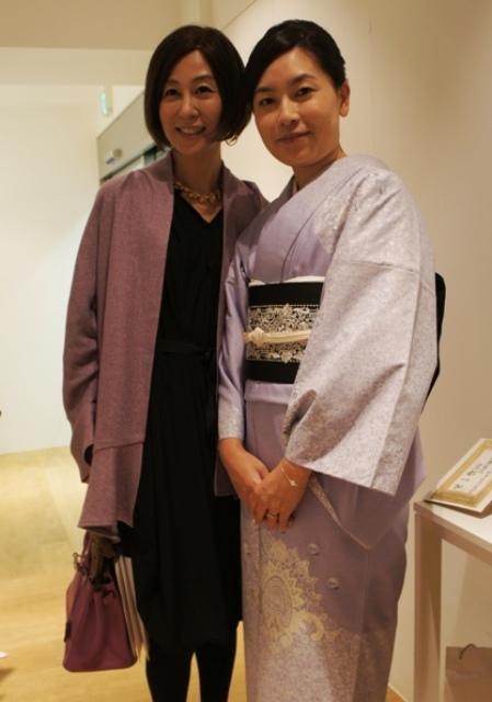 裏地桂子さん『ほめられきもの宣言』出版記念パーティーへ_a0138976_19464329.jpg