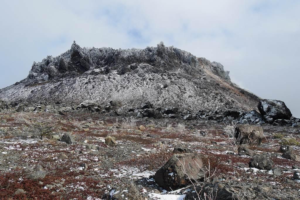 初冠雪の樽前山、10月28日_f0138096_13184953.jpg