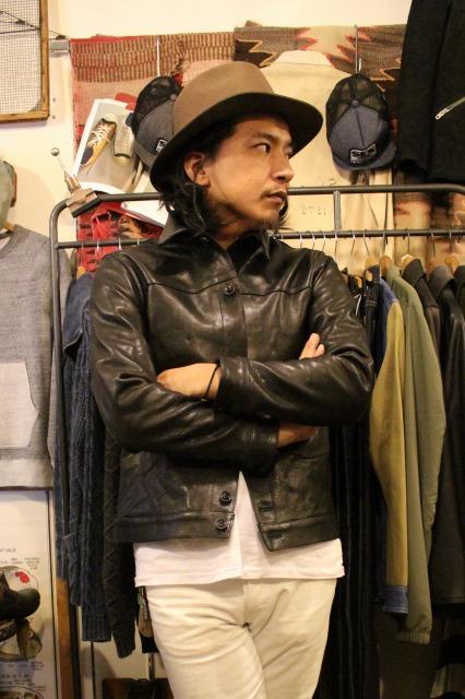 BUBALUS Leather Jacket_d0121303_17161192.jpg