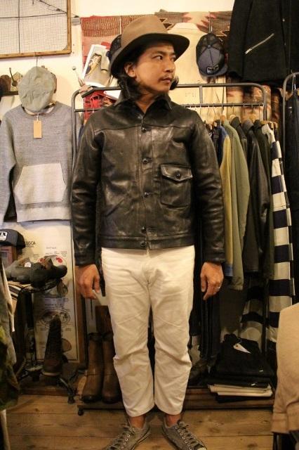 BUBALUS Leather Jacket_d0121303_17162168.jpg