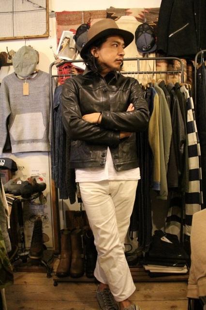 BUBALUS Leather Jacket_d0121303_1716272.jpg