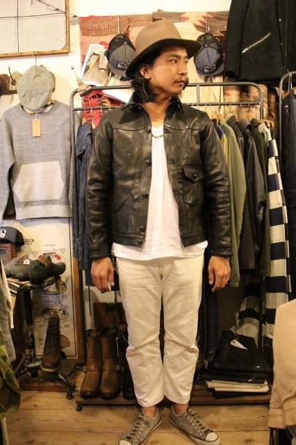 BUBALUS Leather Jacket_d0121303_17163926.jpg