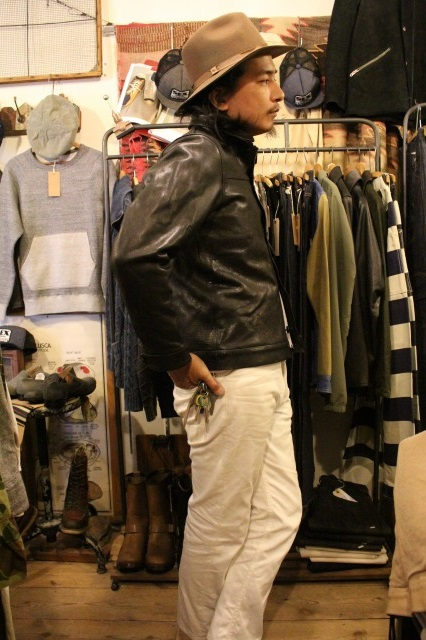 BUBALUS Leather Jacket_d0121303_17164512.jpg