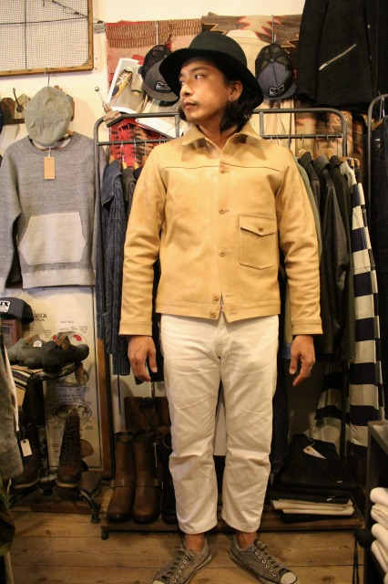 BUBALUS Leather Jacket_d0121303_17171441.jpg