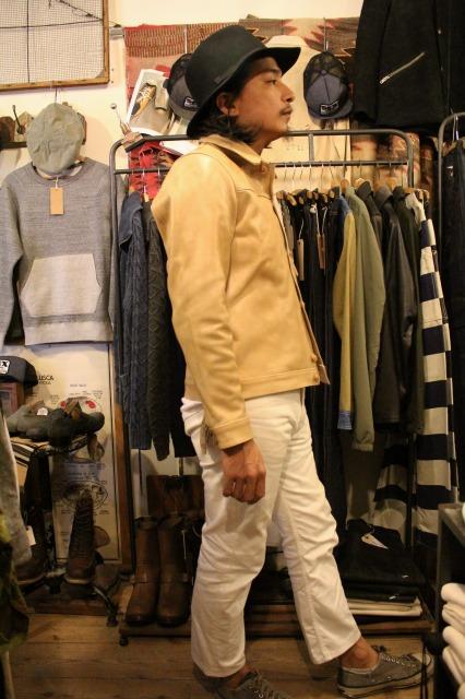 BUBALUS Leather Jacket_d0121303_1717196.jpg