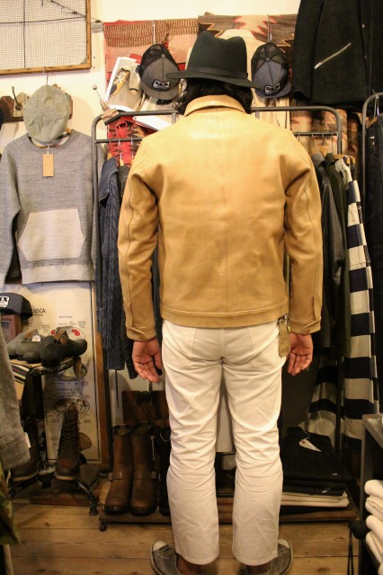 BUBALUS Leather Jacket_d0121303_17172429.jpg