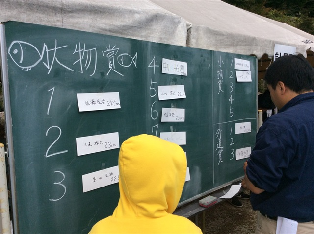 魚釣り大会と秋の加子母ツアー_f0207410_20274621.jpg