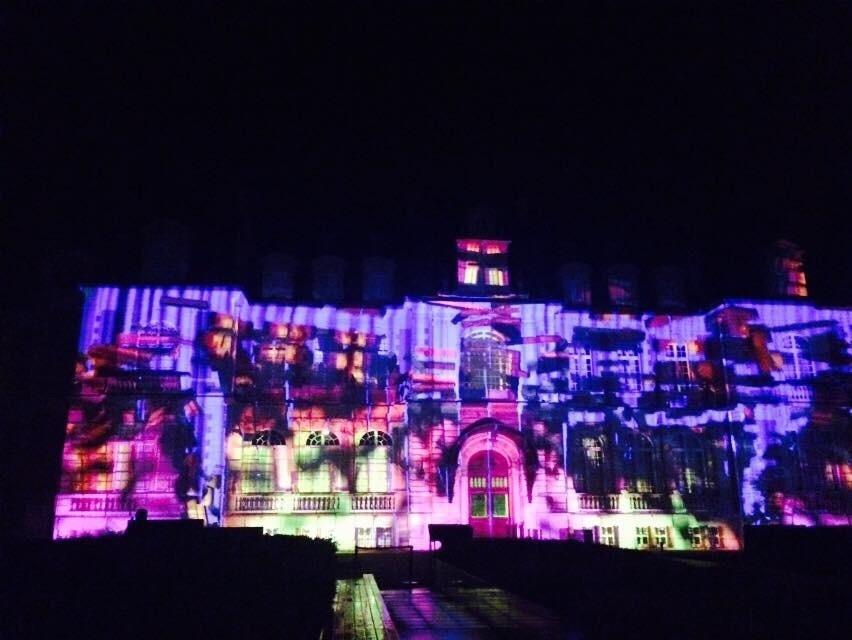 2014 10月 パリ出張 (4)  城のライトアップ_f0062122_14191403.jpg