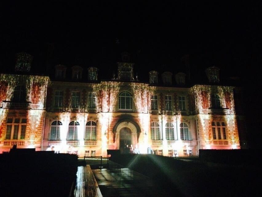2014 10月 パリ出張 (4)  城のライトアップ_f0062122_14201281.jpg