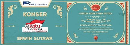インドネシアでコンサート:Konser Satu Indonesia:Salute to Guruh Soekarno Putra)_a0054926_10542610.jpg