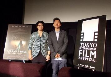 インドネシアの映画:「太陽を失って」のLucky Kuswandi監督のQ&A」@東京国際映画祭_a0054926_23544473.jpg