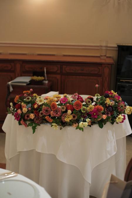 秋の装花 リストランテASO様へ 草花とインスタグラム_a0042928_20551219.jpg