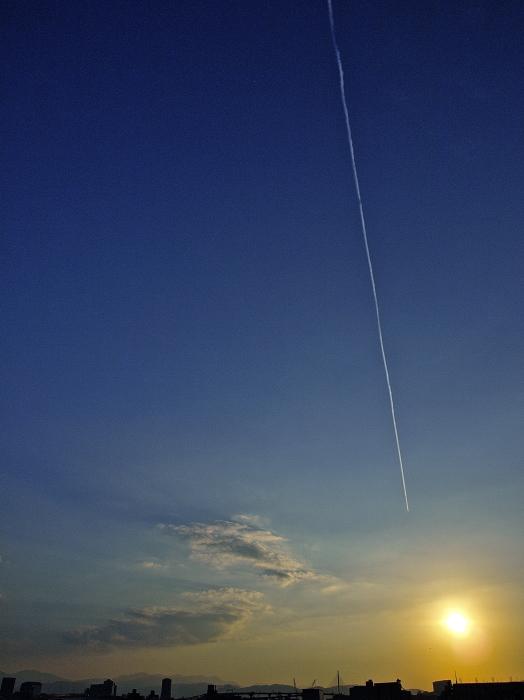 Sun set  博多港_f0315034_13282319.jpg